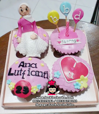 Cupcake Birthday Pink (REPEAT ORDER)