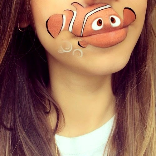 Cartoon Characters Lips