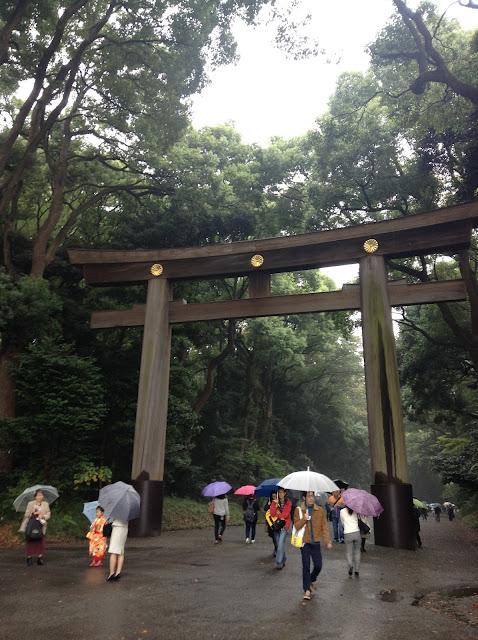 Meiji Jingu, Torii