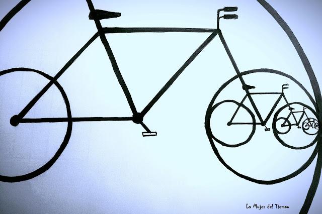 la Mujer del tiempo Salamanca en bici