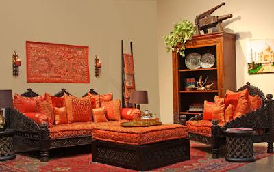 Bricolage e decora o 8 ideias para salas em v rios for Living room jhula