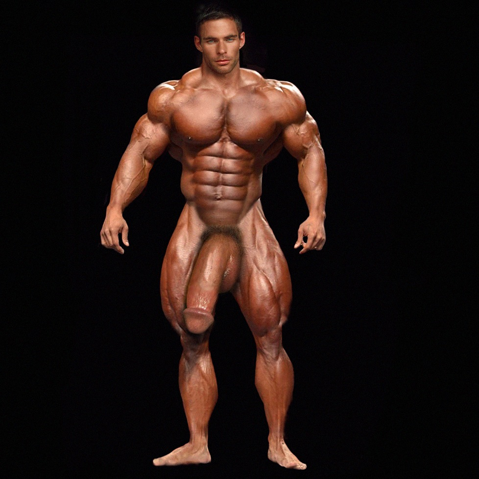 muscle men with huge cock