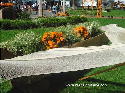 Canoas del Lago de Patzcuaro el Dia de Muertos