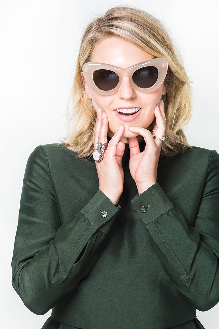 Fashion Over Reason X Keaton row, Céline sunglasses, Bally Switzerland top, Saint Laurent ring