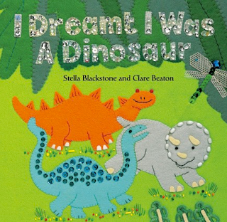 barefoot book about dinosaurs
