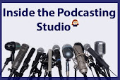 Click on the image to find Inside the Podcasting Studio!