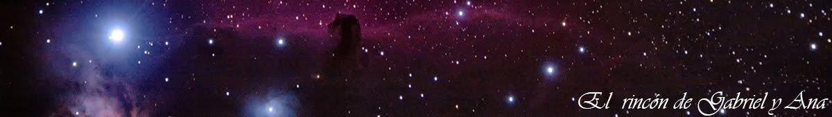 El rincón de Gabriel y Ana de Alcoy. Astronomía y fotografía.