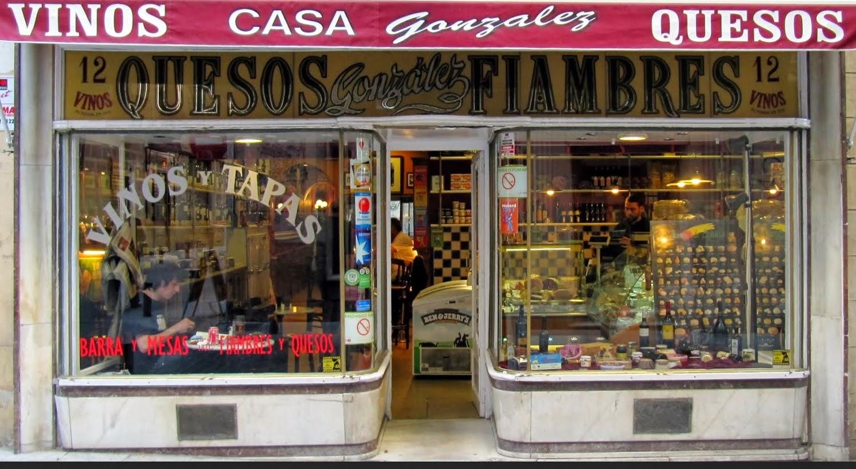Barrio de las Letras. Madrid. Casa González. Inspección Tabernaria