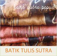 Batik Tulis Sutra Papua