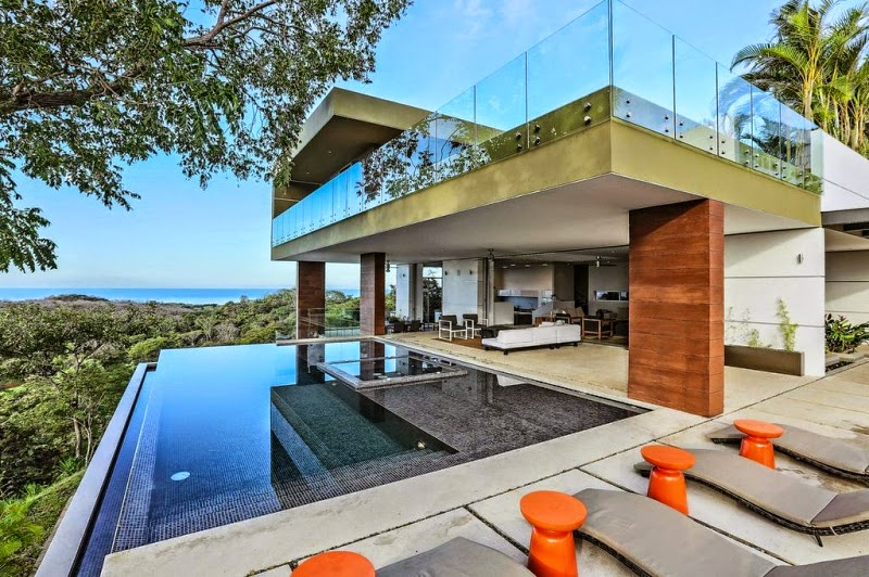Travel 2 the caribbean blog eco friendly caribbean luxury for Luxury villas in costa rica