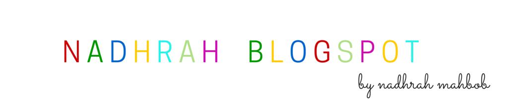 nadhrahblogspot