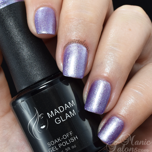 Madam Glam Gel Polish Sweet Lavenda Swatch