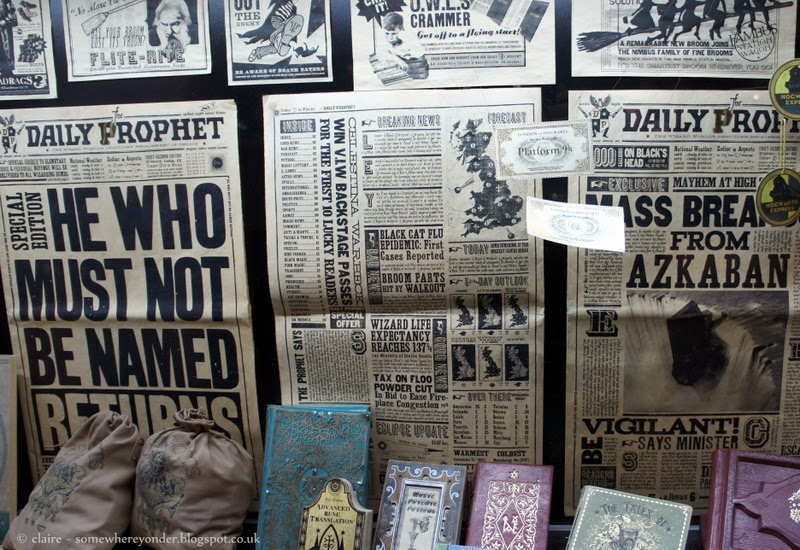 The Daily Prophet - Harry Potter Warner Bros Studio Tour, Watford