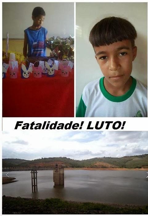 Em Bom Jardim, Garotos morrem afogados na barragem de Pedra Fina,mais