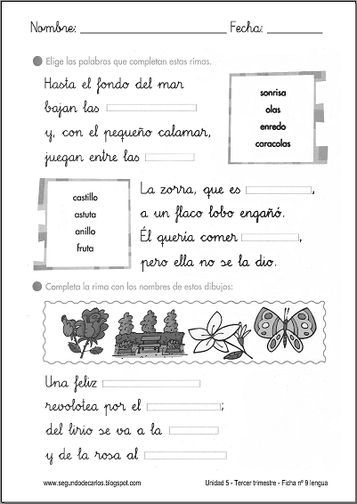 EL BLOG DE SEGUNDO: TAREAS PARA ENTREGAR EL LUNES 16-06-14