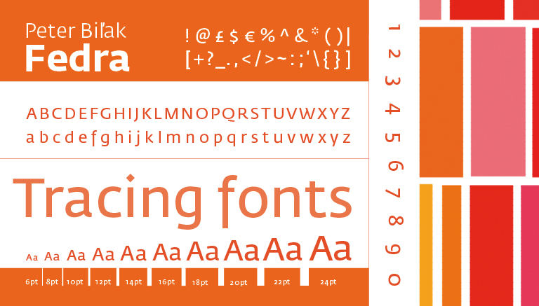Fedra Sans Was Designed By Peter Bilak And Released In 2001 It Is A Multilingual Contemporary Serif Typeface Developed For Visual Identities