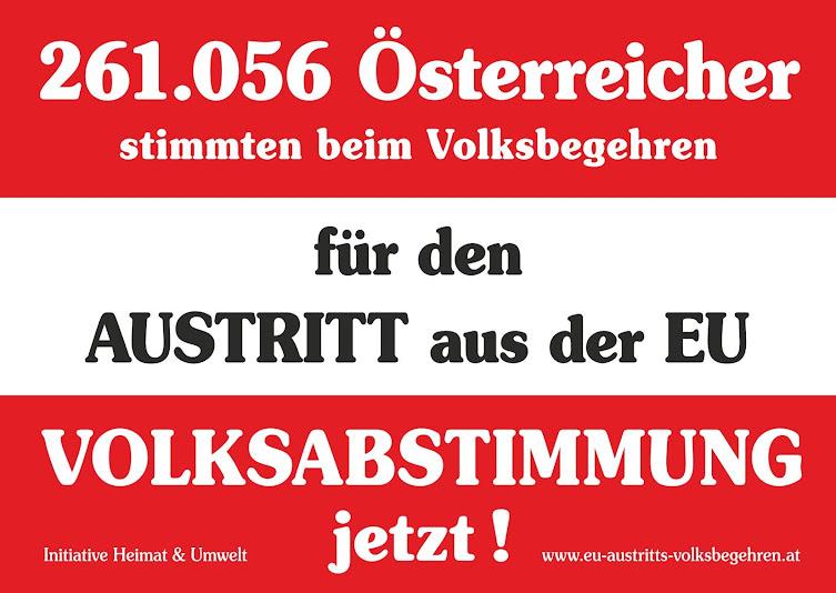 Wir fordern eine EU-Volksabstimmung