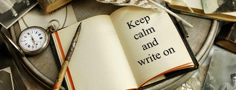 Keep calm and on write