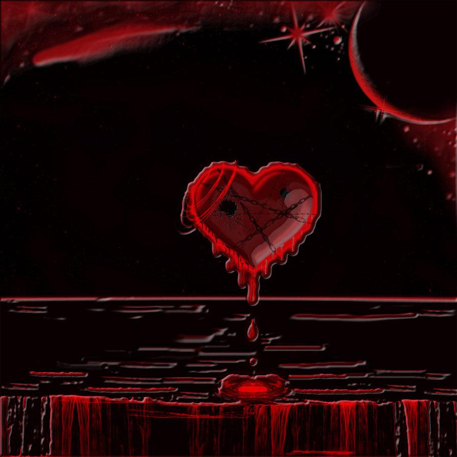 قلم يكتب الم وقلبي ينزف دما