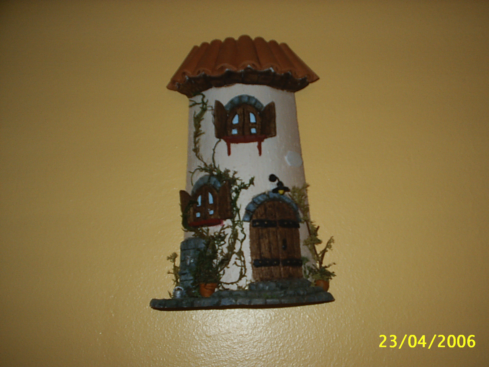 Los detalles de lina tejas decoradas - Como decorar tejas rusticas ...