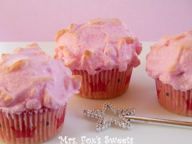 Ms. Fox's Sweets: Pink Princess Cupcakes #22- Pink Snowballs