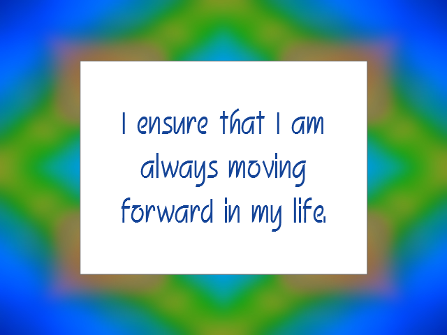 PROGRESS affirmation