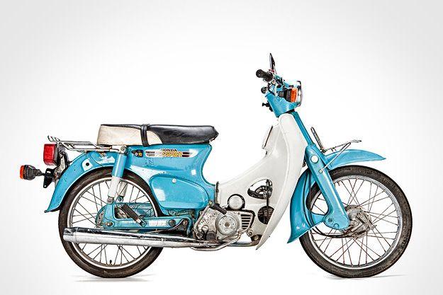 Kumpulan Spesifikasi Motor Antik Honda Yang Paling Unik