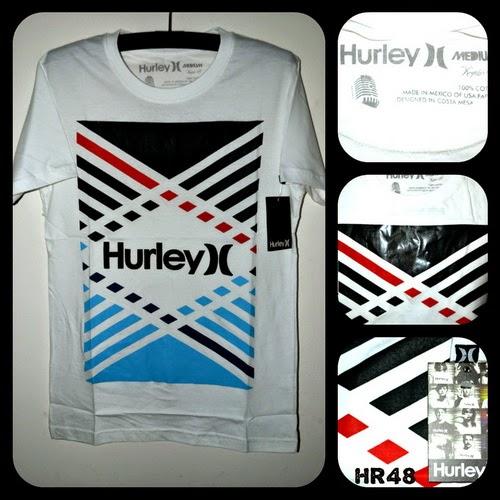 Kaos Surfing HURLEY Kode HR48