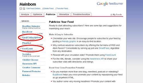 Cara Membuat Langganan Artikel Via Email atau Email Subscribe