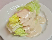 You can purchase vegan thousand island dressing from Organicville, . (iceberg lettuce wedges with thousand island dressing )