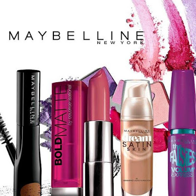 Maybelline cosmetics, lipstick, makeup, brow, blush, mascara, Ensogo sale