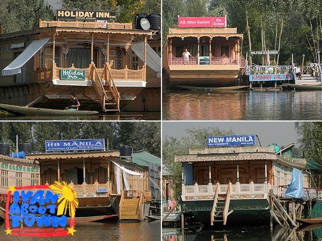 Srinagar houseboat accommodation