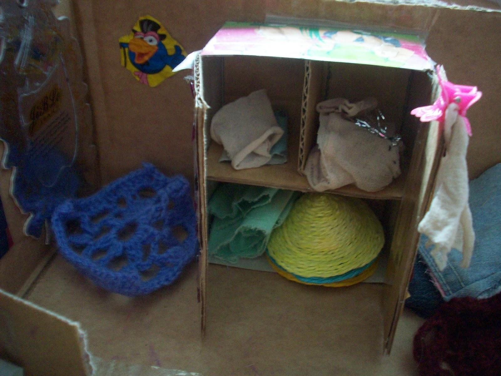 Как сделать мебель для кукол? Кукольный домик 7