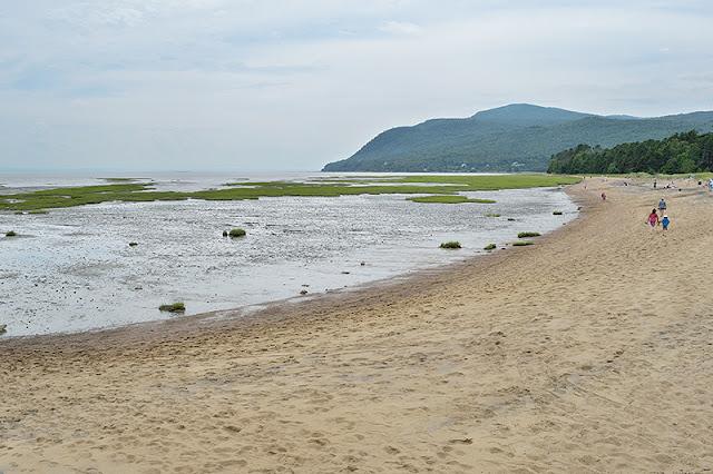 La plage de Baie-Saint-Paul