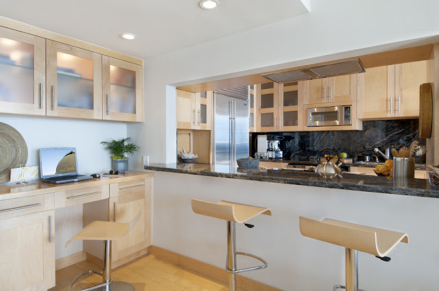 Small Kitchen Design by Sarah Barnard in Venice CA