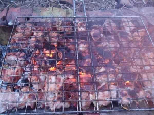 Шашлык из свинины за 2 часа