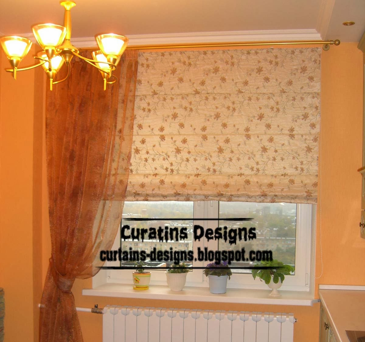 10 Exclusive Roman Shades Designs For Kitchen, Roman Blinds