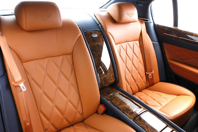 2012 Bentley Continental Flying Spur Speed back interior