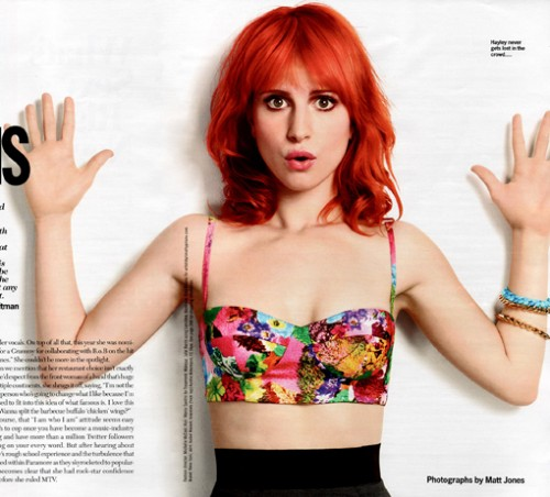 hayley williams hair crushcrushcrush. hayley williams cosmopolitan