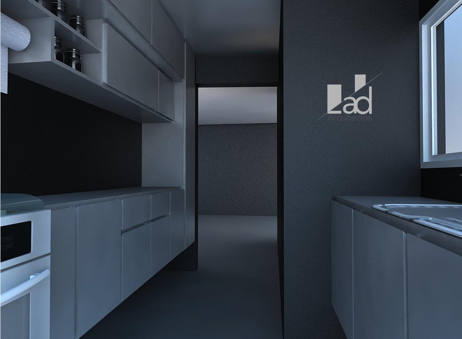 Arquitectura y dise o lad arquitectos mobiliario for Mobiliario cocina