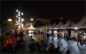 Tempat Wisata Ngarsopura Night Market Solo