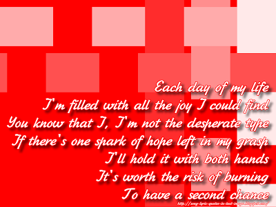 I Still Believe - Mariah Carey Song Lyric Quote in Text Image