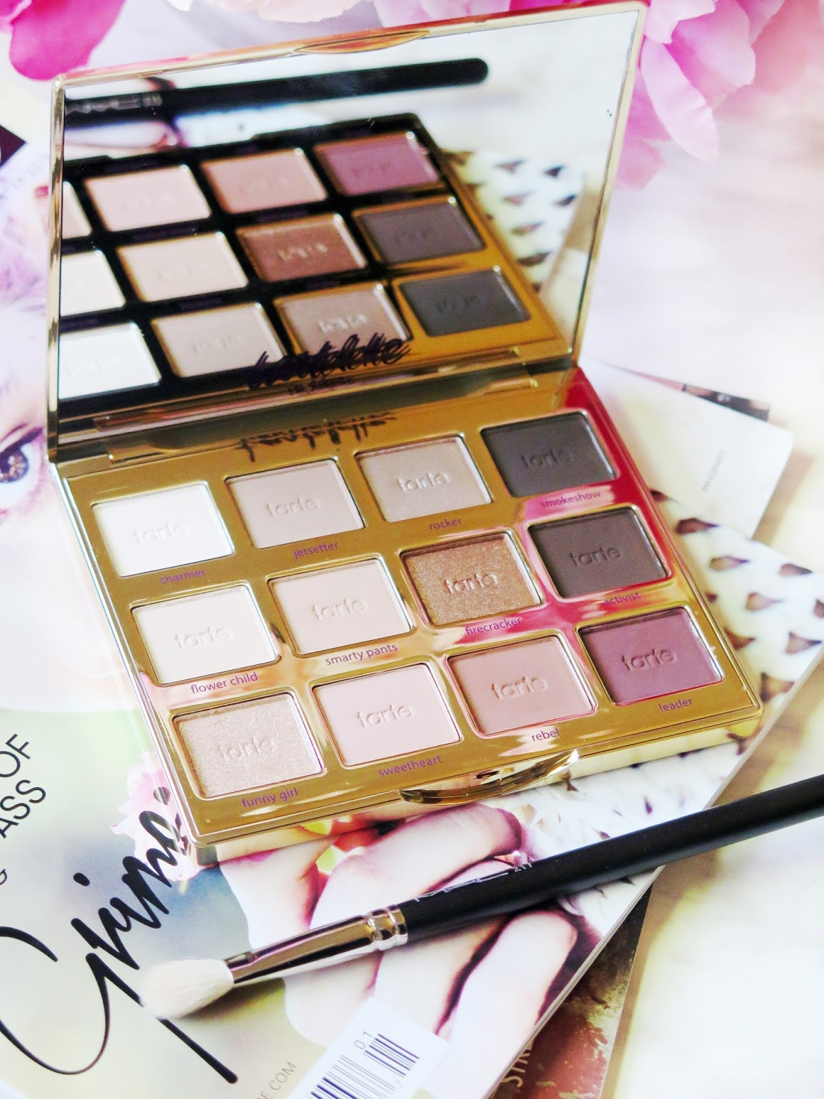 A Warm Tone Lover's Dream | Tartelette 2 In Bloom Palette Review & Swatches | labellesirene.ca