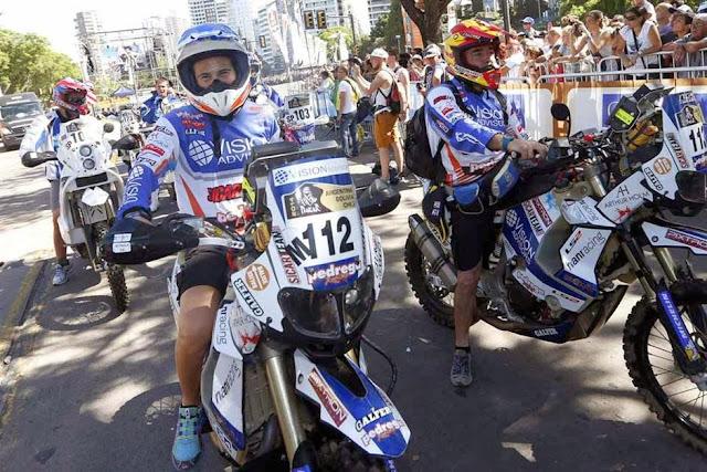 Rally Dakar 2014: comenzó la gran fiesta en Rosario con la largada simbólica ante una multitud Dakar-1821218h627