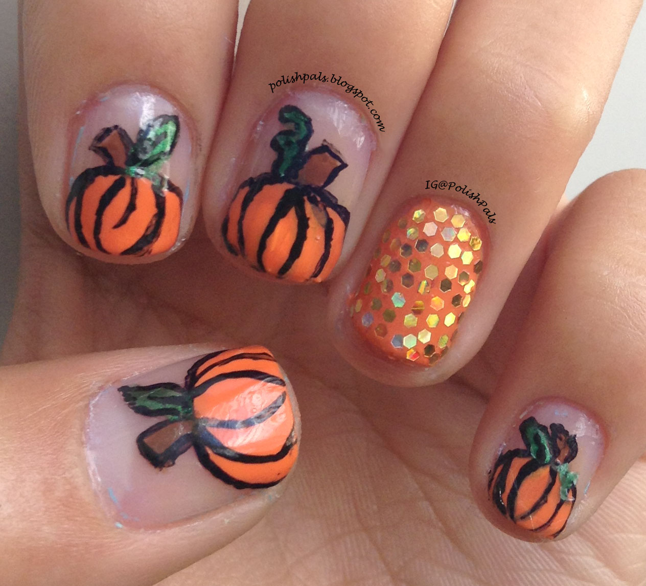 Outstanding Cute Fall Nails Illustration - Nail Art Ideas - morihati.com
