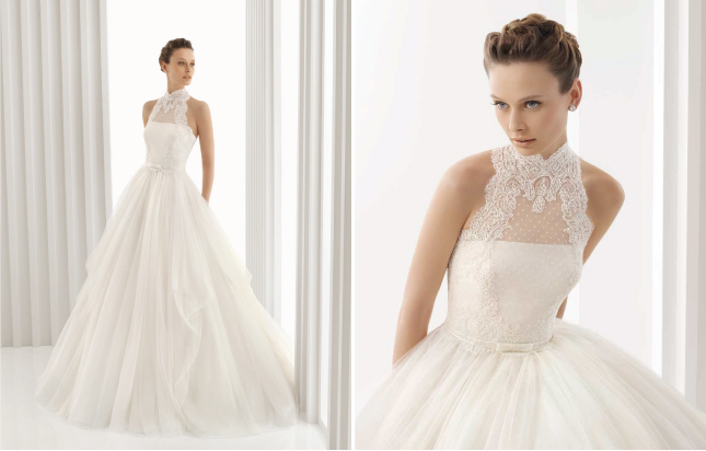 Rosa Clara 2012 and My Dress Of The Week Belle the Magazine The Wedding