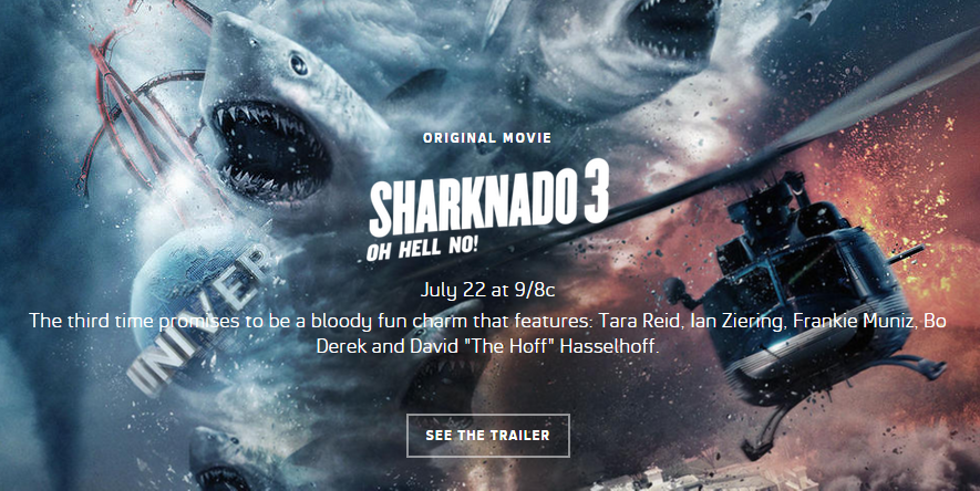 Sharknado 3 Oh Hell No