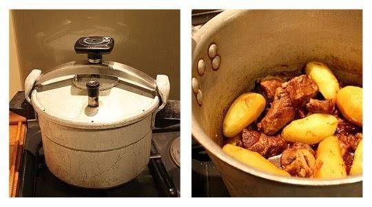 Un dimanche a la campagne quand la soupape chuchote - Cuisiner rouelle de porc en cocotte minute ...