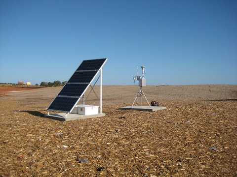 US SOLAR RADIATION RESOURCE MAPS The Met One Instruments Inc Monitor