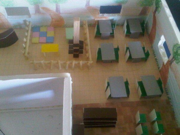 Dise o de interiores iii institucional fotos maqueta for Diseno de interiores universidad publica